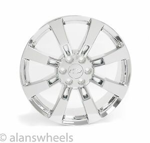 4 New Chevy Suburban Tahoe Chrome 22 Wheels Rims Lugs Free Shipping 5409