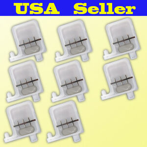 8x Large Damper Epson Dx3 Dx4 Dx5 Ink Printer Big Filter Mimaki Mutoh Us Seller