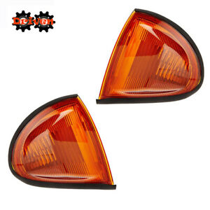 93 97 Honda Del Sol Eg Jdm Frosted Amber Corner Light Blinker Light