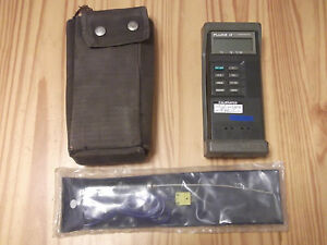 Fluke 52 K j Thermometer W new Omega K type Probe service Manual On Cd