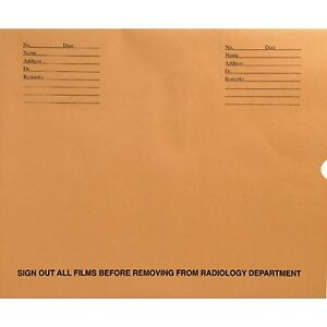 Xray File Folder Negative Preserver 14 X 17 box Of 100 New