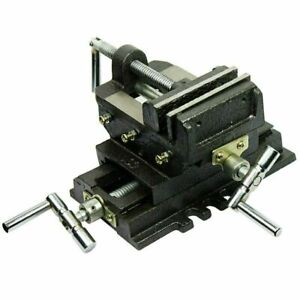4 Cross Drill Press X y Clamp Machine Vise Metal Milling Slide 2 Way Hd
