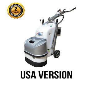 Asl T2 Concrete Grinding Polishing Machine 220v 1 Or 3 Phase 5hp Usa Version