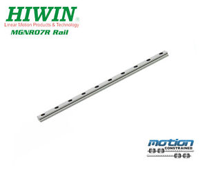 New Hiwin Mgnr7r Linear Guideway Rail Mgn7 Series Up To 595mm Long