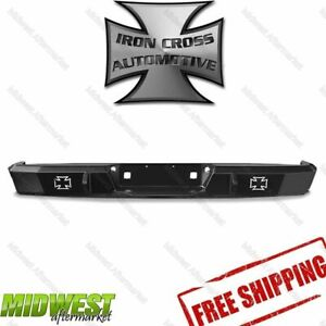 21 715 14 Iron Cross Heavy Duty Rear Bumper Fits 2014 2017 Toyota Tundra