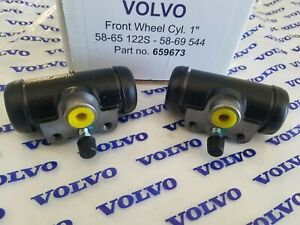Volvo 544 1958 1969 122s 1958 65 Front Wheel Cylinder Set Of 2 Reproduction
