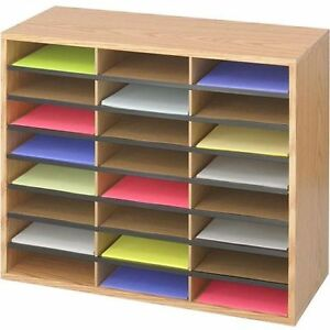 Document Compartment Organizer Paper Storage Holder Sorter Office Letter Home