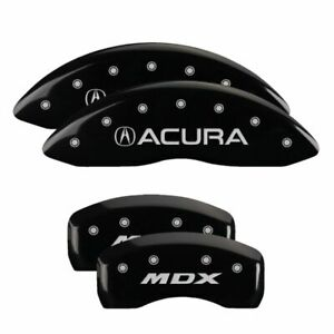 Brake Mgp Caliper Cover Rear Black Paint Wheels Rotor For Acura Mdx 2007 2013