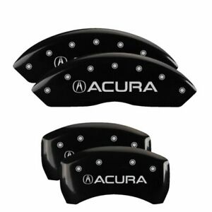 Brake Mgp Caliper Cover Front Rear Black Paint Wheels For Acura Tlx 2015 2016