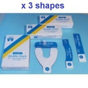 3 Shapes Double Check Articulating Paper Blue red 65 My Made In Sweden