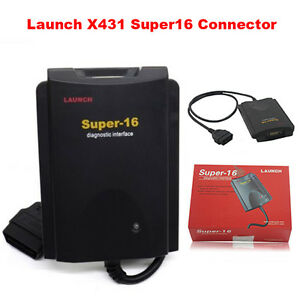 Launch Super16 Interface Connector For X431 Super Scanner Diagun Iii Gx3 Master