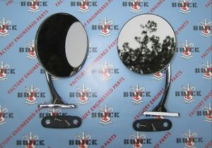 1948 1953 Buick Outside Rear View Mirrors Show Quality Free Shipping