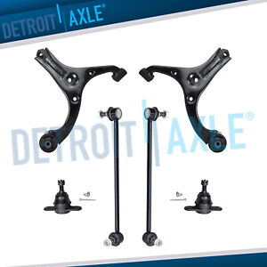 New 6pc Complete Front Suspension Kit For 2006 2011 Hyundai Accent Kia Rio