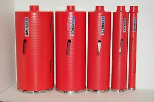 Dry Type 1 5 Set Diamond Coring Bit Concrete Core Drill By Bluerock Tools