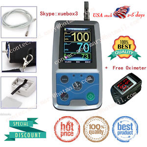 Contec Fda 24h Ambulatory Blood Pressure Monitor usb Software Nibp Holter Abpm50