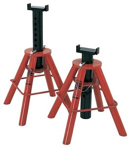 Norco 81210i 10 Ton Imported Pin Jack Stands 28 To 47