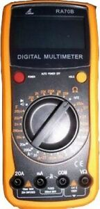 1 Rek Digital Multimeter Capacitance temperature Ra70c