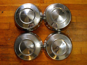 1963 Dodge Polara 10 Dog Dish Hub Caps 330 880 1962 1964