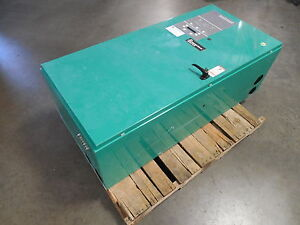 600 Amp Cummins Onan Powercommand Automatictransfer Switch Ats 0tpcc 4490802