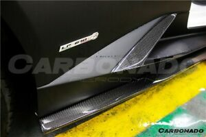 Lamborghini Huracan Lp610 Lp580 Carbon Fiber Rz Style Intake Side Vents Body Kit