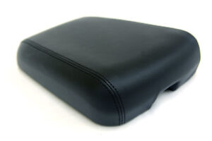 Armrest Console Lid Synthetic Leather Cover For Jeep Grand Cherokee 99 04 Black