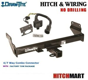 Fits 2011 2019 Grand Cherokee Trailer Hitch Wiring W 7 Way Factory Tow 75699