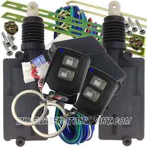 Heavy Duty 2 Door Central Power Locking Kit Keyless Entry
