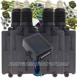Heavy Duty Powerlock 4 Door Central Power Locking Kit