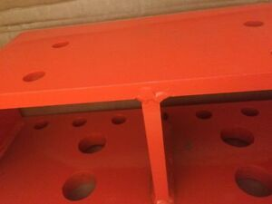 New 1875a Kubota Front Weight Bracket for 1 7 Weights Compatible With M1871
