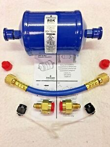 Refrigeration Recovery Burn Out Pre filter Hose Kit Bok163hh Ok For R410a