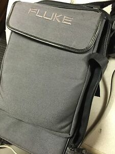 Fluke 685 Enterprise Lanmeter With Power Adapter Remote Cable And Carrying Case
