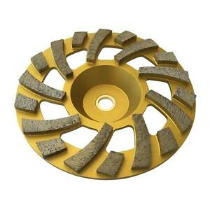 7 Long Lasting Diamond Grinding Wheels For Concrete Epoxy 7 8 5 8 Arbor