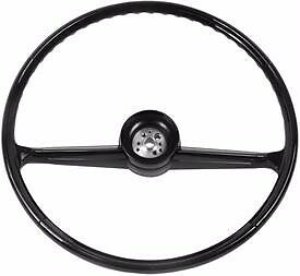 Chevrolet Truck Steering Wheel 1960 1961 62 63 1964 65 66 Black Original Style