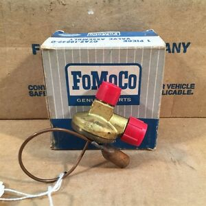 67 68 Nos Ford Galaxie Falcon Expansion Valve W hang On A c C7az 19849 c