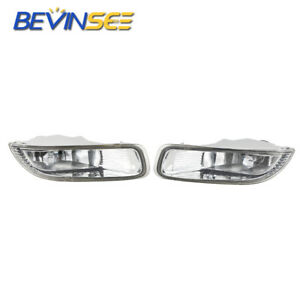 Clear Lens Front Driving Lamps Fog Lights Lamps For Toyota Corolla 2003 2004
