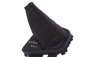 Automatic Shift Boot Leather Synthetic For Land Rover Lr2 08 12 Black