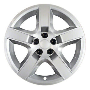 Brand New Set Of 4 17 Silver Hubcaps For 08 09 10 11 12 Chevy Malibu