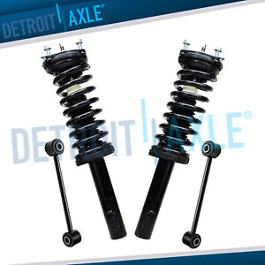 4pc Front Struts Sway Bar Links For 2005 2010 Jeep Grand Cherokee Commander