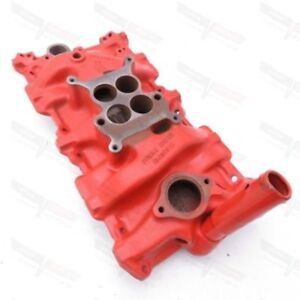 Corvette Chevy Passenger Car Oem Cast Iron 4bbl Intake Manifold Wcfb A 15 4 1964