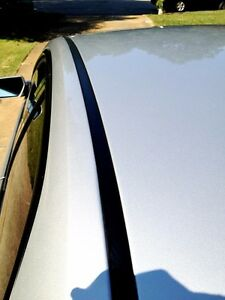 For 2008 2011 Ford Focus Black Roof Top Trim Molding Kit