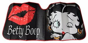 Betty Boop Sunshade Windshield Wind Shield Sun Shade Visor Car Windscreen Women