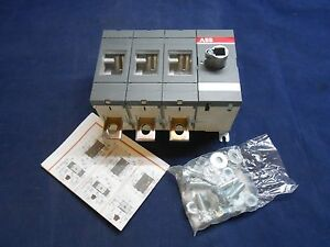 Abb Ot400e30 Disconnect Switch 400a 690vac 3p 1sca022727r8180