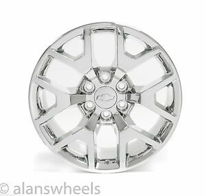 4 New Chevy Silverado Avalanche Chrome 20 Wheels Rims Lugs Free Shipping 5656