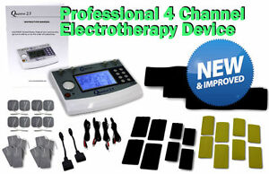 Quattro 2 5 Clinical 4 Channel Stim Comparable To Chattanooga Richmar