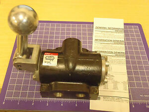 Ingersoll Rand Aro K213ls Manual Air Control Valve 4 way 3 8 Npt