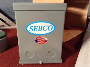Sebco Low Voltage Lighting Transformer 150 Watt 1023 12