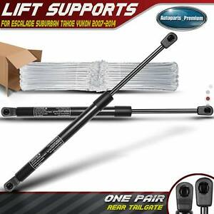 2 Rear Hatch Lift Support Shock For Chevrolet Suburban 1500 Tahoe 2007 2014 6156