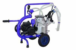 Milker Goats Milking Machine Vacuum Pump Electric 304l Stainless Steel extras