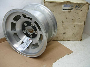 Nos 1974 79 Corvette 15 Aluminum Wheel Real Gm Kelsey Hayes Factory Installed