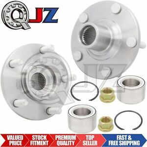 2x Front Wheel Bearing Hub Stud Kit Replacement For 2000 20008 Nissan Maxima 02